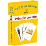 Primele cuvinte - Carti de joc educative, editura Gama