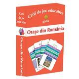 Orase din Romania - Carti de joc educative, editura Gama
