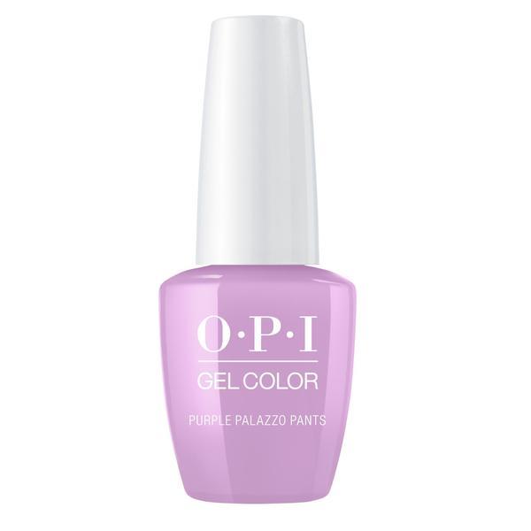 Lac de Unghii Semipermanent - OPI Gel Color Purple Palazzo Pants, 15 ml