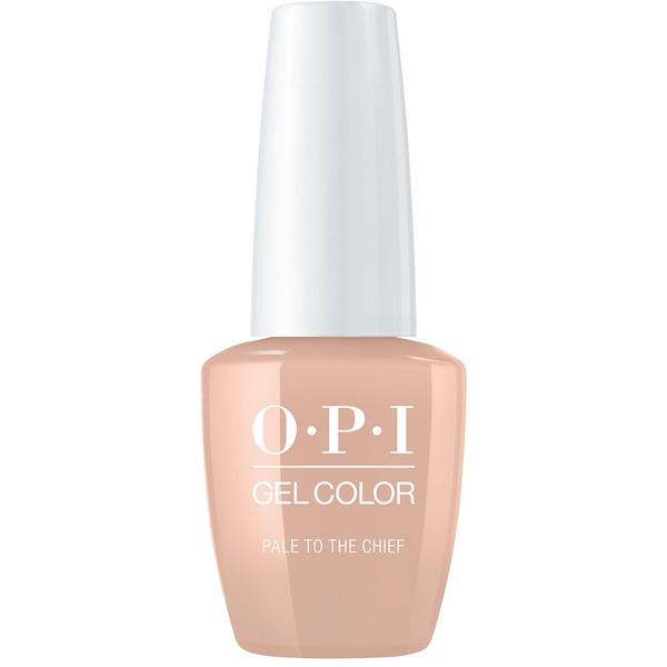 Lac de Unghii Semipermanent - OPI Gel Color Pale To The Chief, 15 ml
