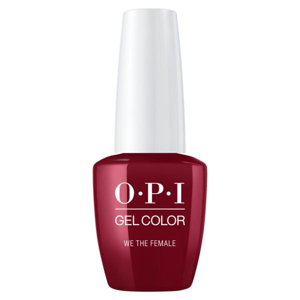 Lac de Unghii Semipermanent - OPI Gel Color We The Female, 15 ml