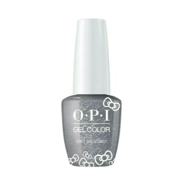 Lac de Unghii Semipermanent - OPI Gel Color HELLO KITTY Isn't She Iconic,15 ml