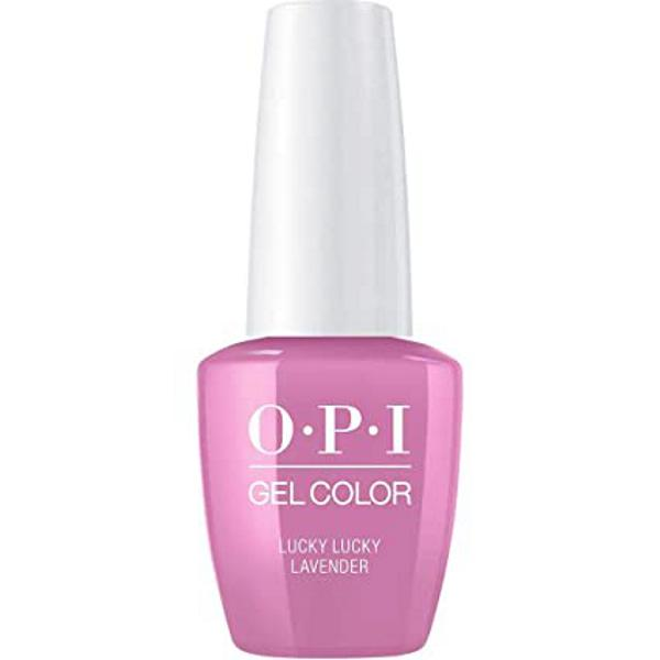 Lac de Unghii Semipermanent - OPI Gel Color Lucky Lucky Lavender, 15 ml