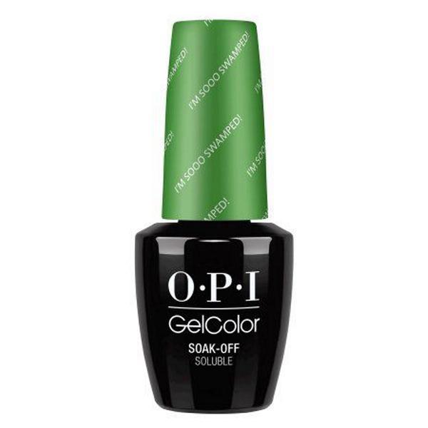 Lac de Unghii Semipermanent - OPI Gel Color I'm Sooo Swamped!, 15 ml