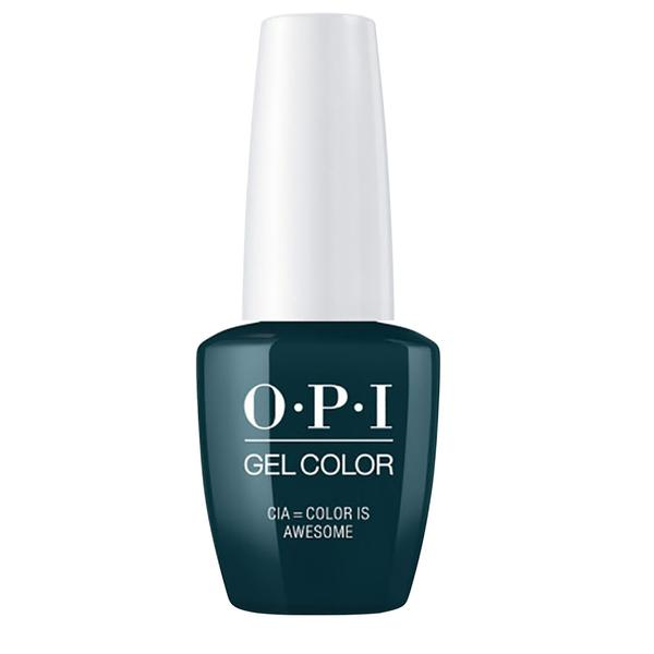 Lac de Unghii Semipermanent - OPI Gel Color CIA = Color Is Awesome, 15 ml