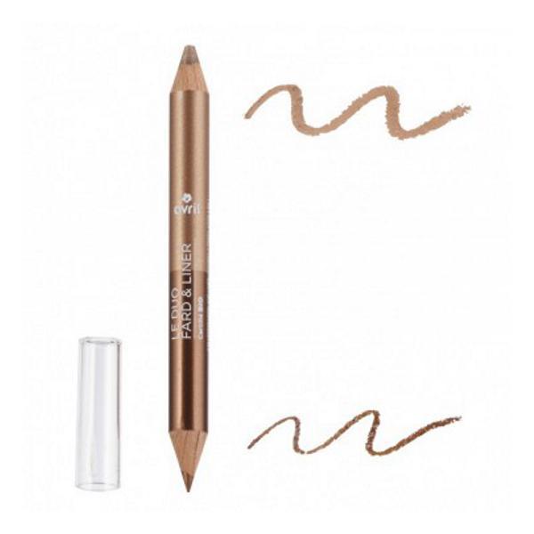 Creion de Ochi Duo Bronz si Bej Auriu Avril imagine