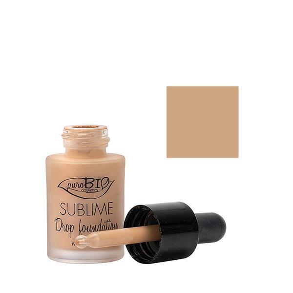 Fond de Ten Sublime Drop Foundation 03 PuroBio Cosmetics, 15ml