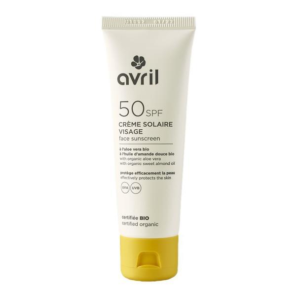 Crema Solara pentru Ten SPF50 Avril, 50 ml
