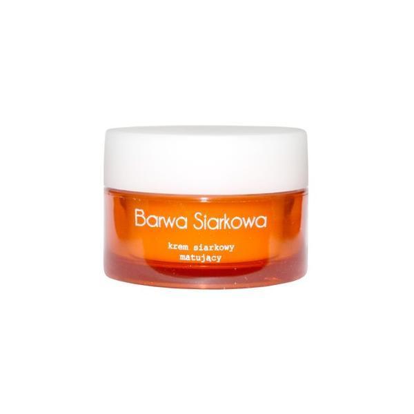 Crema faciala matifianta si antibacteriana cu sulf Barwa, 50 ml esteto.ro