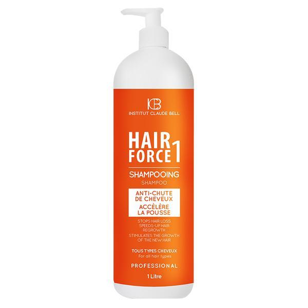 Sampon Hair Force One Anticadere si Crestere Par, Gama Profesional, Institut Claude Bell 1000ml