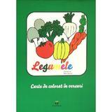 Legumele- Carte de colorat in versuri, editura Petrescu And Cioponea