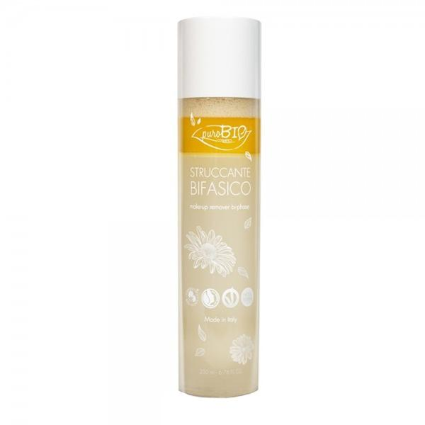 Demachiant Bifazic Bio PuroBio Cosmetics, 200ml imagine produs