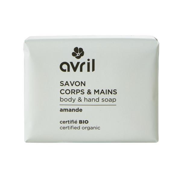 Sapun Bio cu Aroma de Migdale Avril, 100 g imagine produs