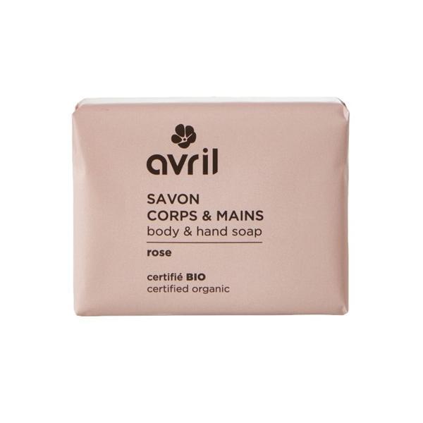 Sapun Bio cu Aroma de Migdale Avril, 100 g poza