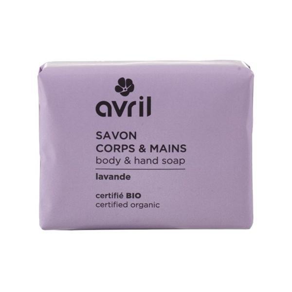 Sapun Bio cu Aroma de Lavanda Avril, 100 g imagine produs