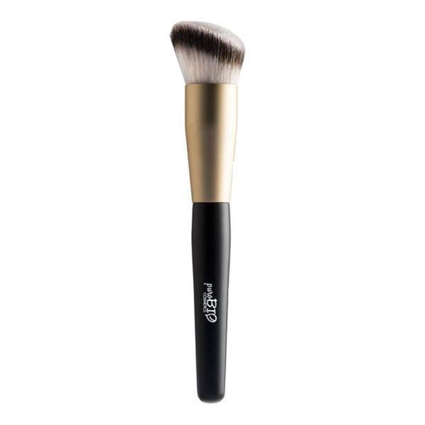 Pensula cu Forma Oblica pentru Conturare11 PuroBio Cosmetics imagine