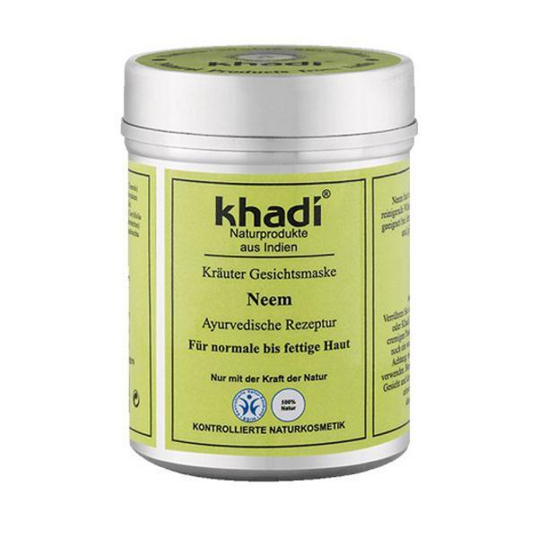 Masca cu Neem pentru Toate Tipurile de Ten Khadi, 50 g imagine