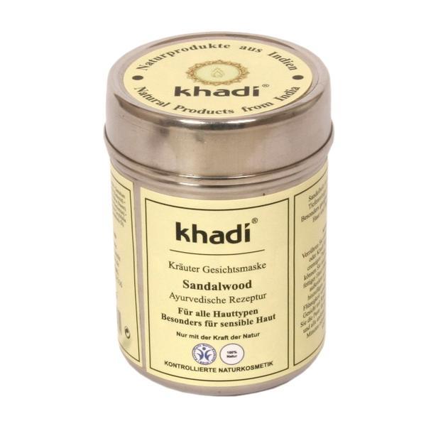 Masca pentru Ten si Corp cu Lemn de Santal Khadi, 50 g imagine