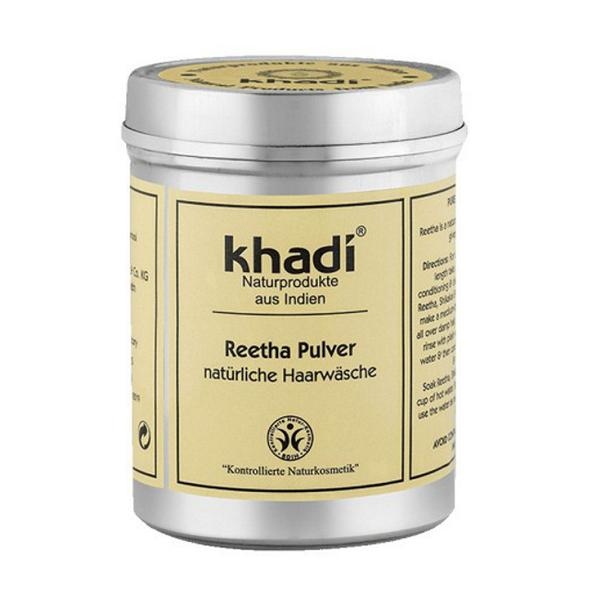 Pudra de Reetha - Sampon Natural Khadi, 150 g imagine