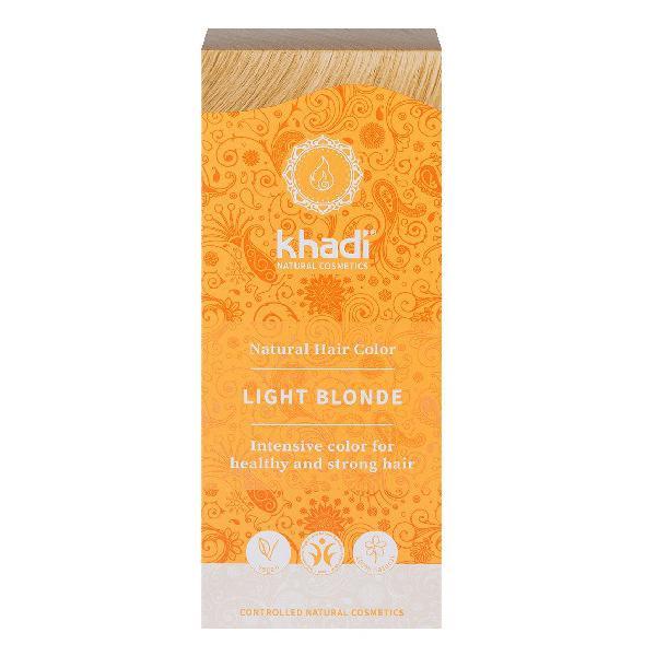 Vopsea de Par Henna pentru Blond Deschis Khadi, 100 g imagine produs