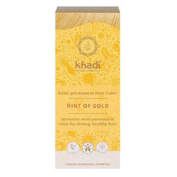 Vopsea de Par Henna pentru Golden Blond Khadi, 100 g imagine