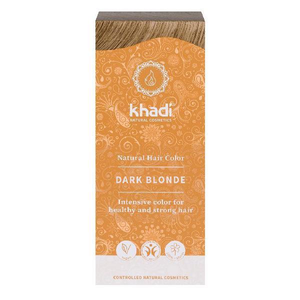 Vopsea de Par Henna pentru Blond Inchis Khadi, 100 g imagine