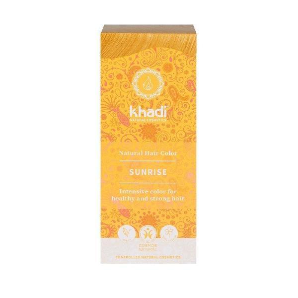 Vopsea de Par Naturala Blond Sunrise Khadi, 100 g imagine produs