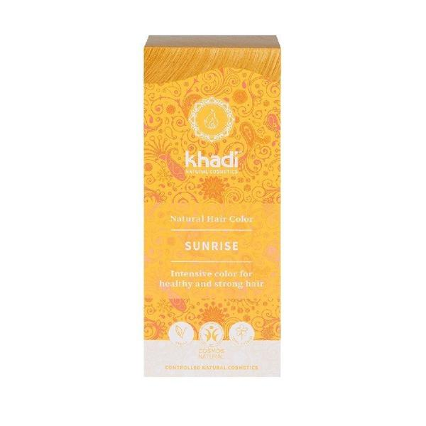 Vopsea de Par Naturala Blond Sunrise Khadi, 100 g imagine