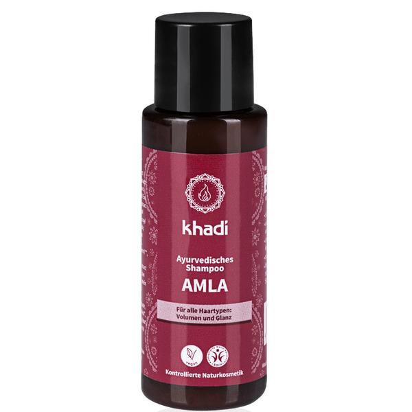 Sampon cu Amla pentru Volum si Stralucire Travel Size Khadi, 30 ml imagine