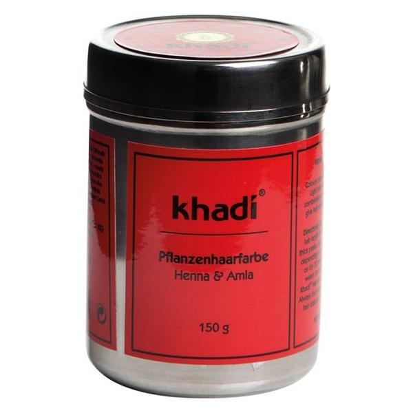 Vopsea de Par Naturala Henna si Amla Khadi, 150 g imagine produs