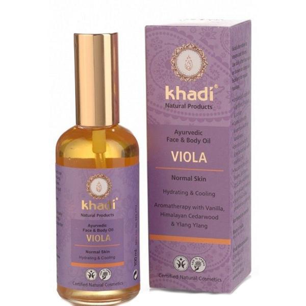 Ulei Indian pentru Piele cu Violete Khadi, 100 ml imagine