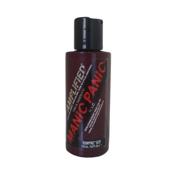 Vopsea Direct Semipermanenta - Manic Panic Amplified, nuanta Vampire Red 118 ml esteto.ro
