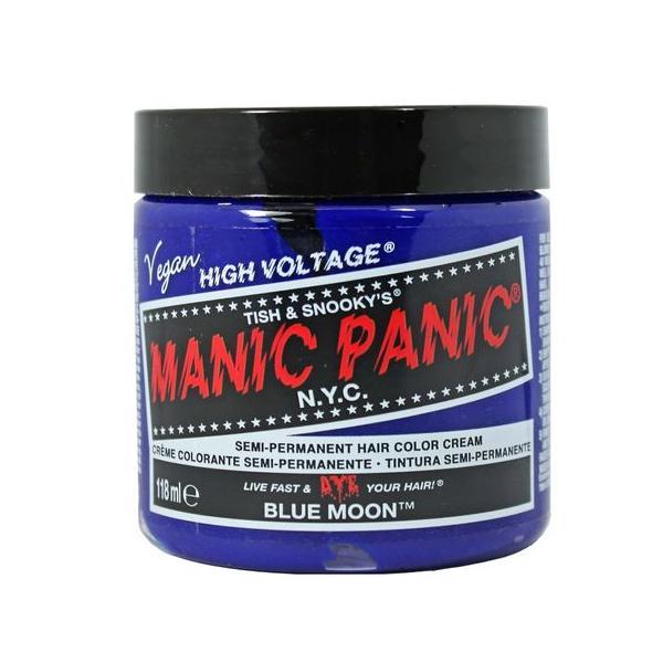 Vopsea Directa Semipermanenta - Manic Panic Cream Tones, nuanta Blue Angel 118 ml imagine produs