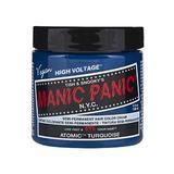 Vopsea Direct Semipermanenta - Manic Panic Classic, nuanta Atomic Turquoise 118 ml