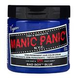 Vopsea Direct Semipermanenta - Manic Panic Classic, nuanta Bad Boy Blue 118 ml