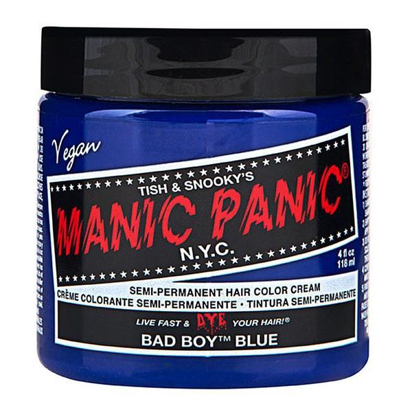 Vopsea Direct Semipermanenta - Manic Panic Classic, nuanta Bad Boy Blue 118 ml imagine produs