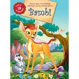Bambi - Cele mai frumoase povesti cu autocolante, editura Prut