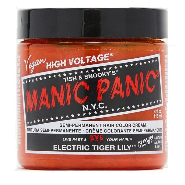 Vopsea Direct Semipermanenta - Manic Panic Classic, nuanta Electric Tiger Lily 118 ml imagine produs