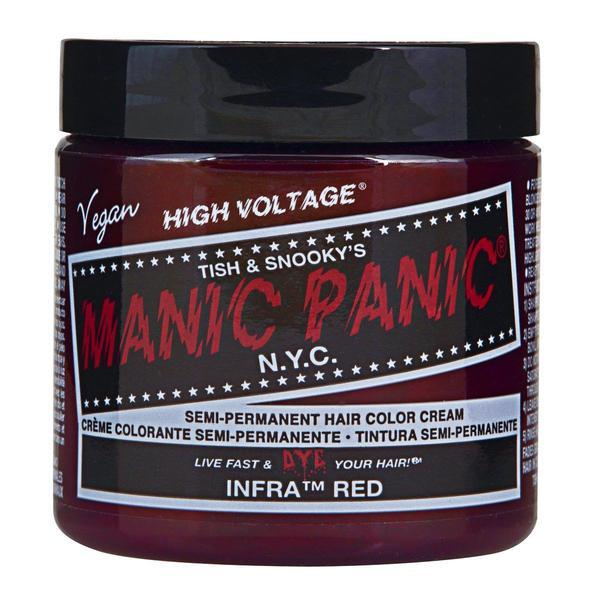 Vopsea Direct Semipermanenta - Manic Panic Classic, nuanta Infrared 118 ml imagine produs