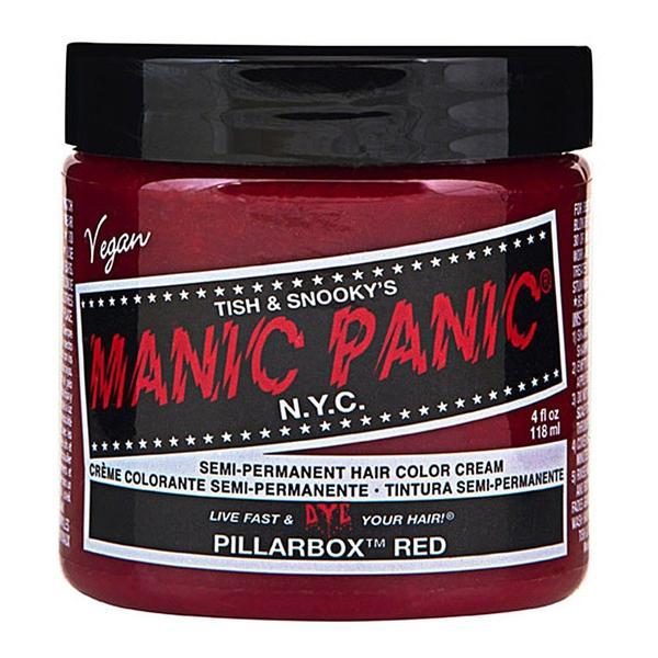 Vopsea Direct Semipermanenta - Manic Panic Classic, nuanta Pillarbox Red 118 ml imagine produs