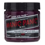 Vopsea Direct Semipermanenta - Manic Panic Classic, nuanta Plum Passion 118 ml
