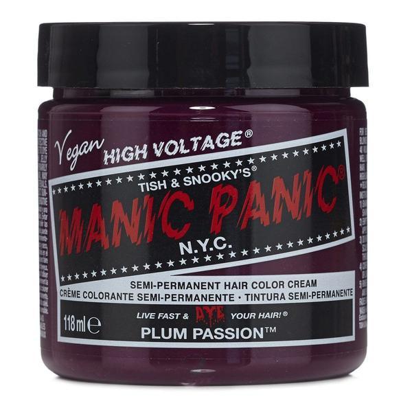 Vopsea Direct Semipermanenta - Manic Panic Classic, nuanta Plum Passion 118 ml imagine produs