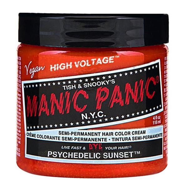 Vopsea Direct Semipermanenta - Manic Panic Classic, nuanta Psychedelic Sunset 118 ml imagine produs