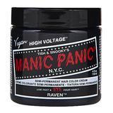 Vopsea Direct Semipermanenta - Manic Panic Classic, nuanta Raven 118 ml