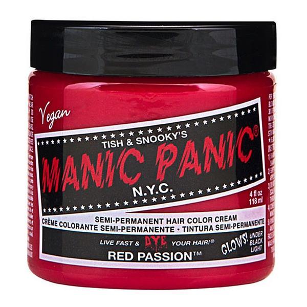 Vopsea Direct Semipermanenta - Manic Panic Classic, nuanta Red Passion 118 ml imagine produs