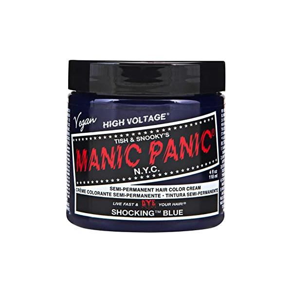 Vopsea Direct Semipermanenta - Manic Panic Classic, nuanta Shocking Blue 118 ml imagine produs
