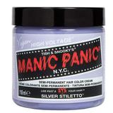 Vopsea Direct Semipermanenta - Manic Panic Classic, nuanta Silver Stiletto 118 ml