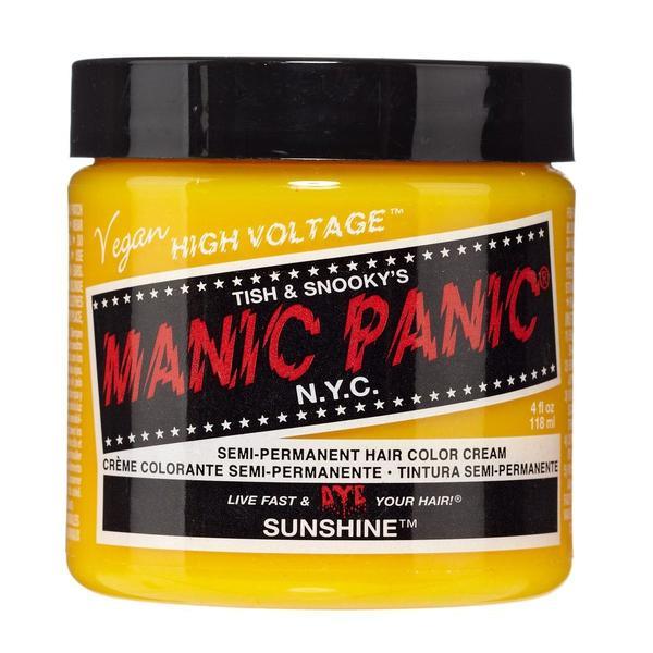 Vopsea Direct Semipermanenta - Manic Panic Classic, nuanta Sunshine 118 ml imagine produs