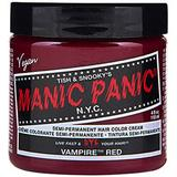 Vopsea Direct Semipermanenta - Manic Panic Classic, nuanta Vampire Red 118 ml
