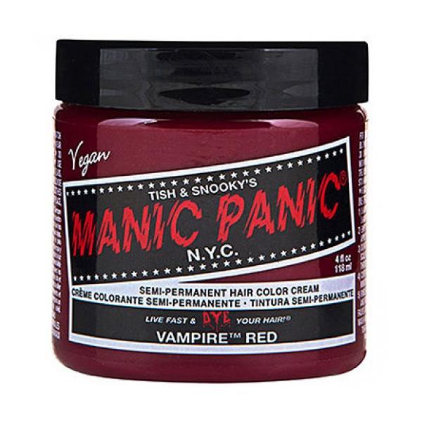 Vopsea Direct Semipermanenta - Manic Panic Classic, nuanta Vampire Red 118 ml imagine produs